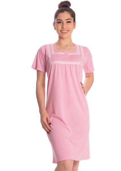 d331a1a79 Camisola Plus Size Carina na Amora Doce