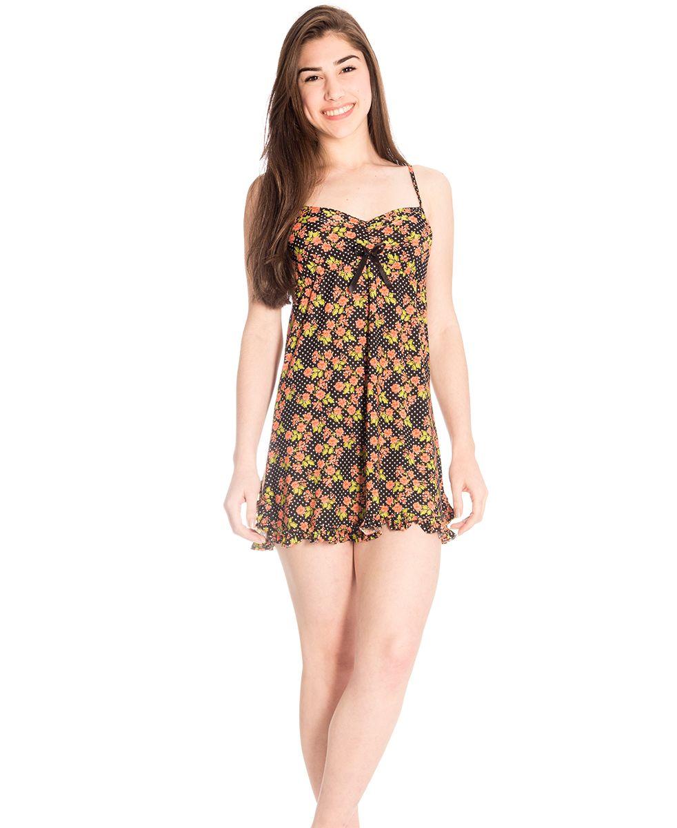 057150213 Camisola Plus Size Feminina Ana Luísa na Amora Doce