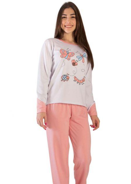 Pijama Feminino Flanelado Joanna
