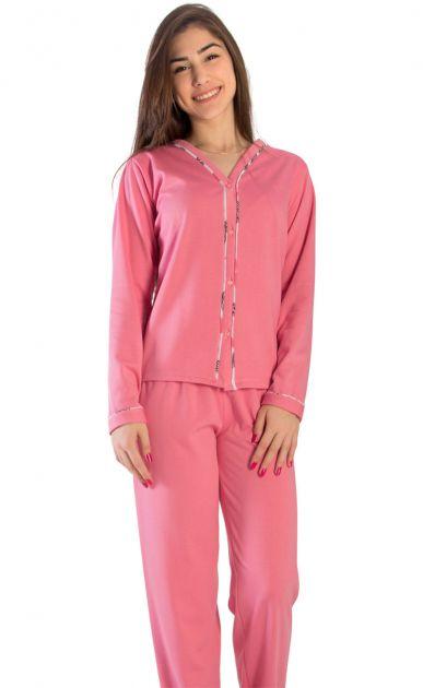 Pijama Feminino Flanelado Louise