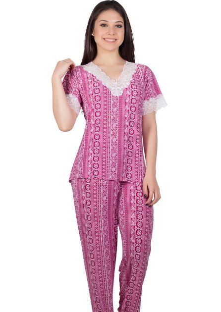 Pijama Feminino Plus Size Liganete Bela