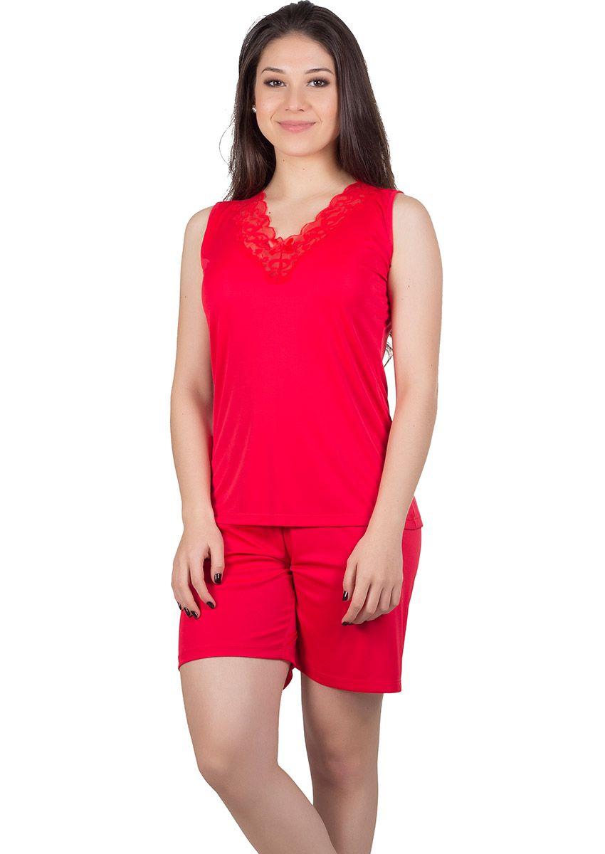8def390b9e0397 Pijama Feminino Plus Size Liganete Tainá