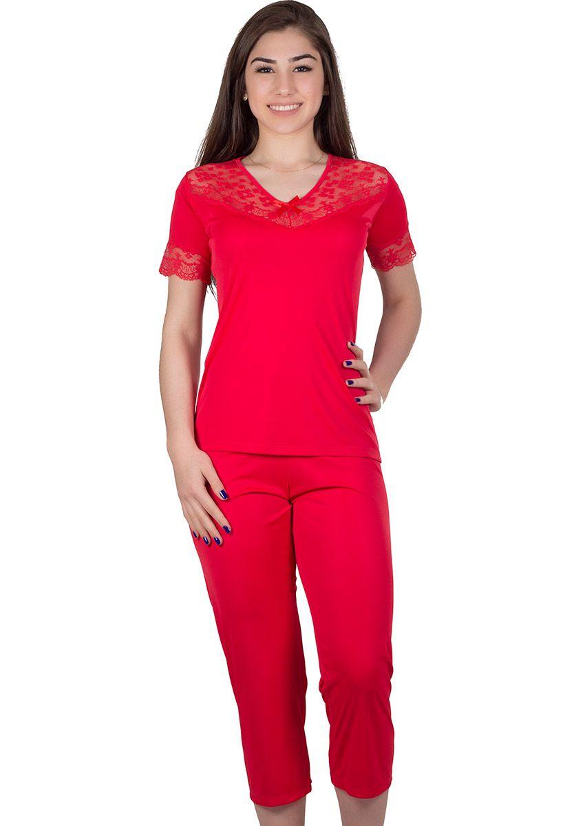 16d0a8f609772f Pijama Feminino Plus Size Liganete Vitória