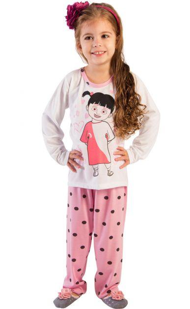 Pijama Menina Boo