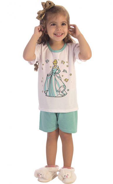 Pijama Menina Cinderela