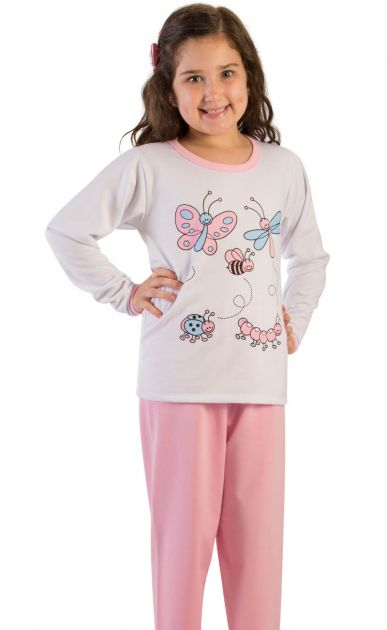 Pijama Menina Flanelado Joanna