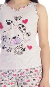 Pijama Menina Litlle Dog Kids
