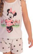 Pijama Menina Minnie Mouse