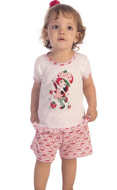 Pijama Menina Moranguinho Baby