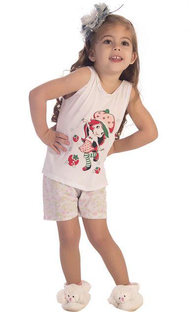 Pijama Menina Moranguinho