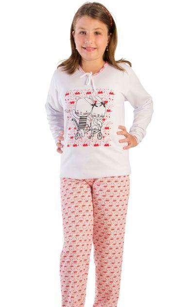 Pijama Menina Flanelado Pamela