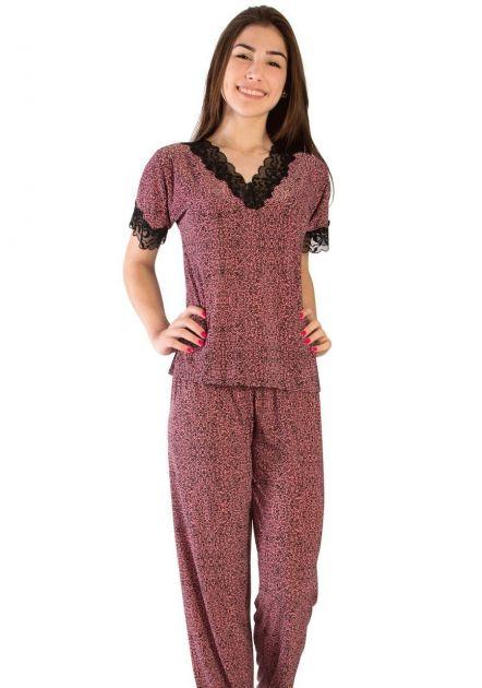 Pijama Plus Size Feminino Ágata