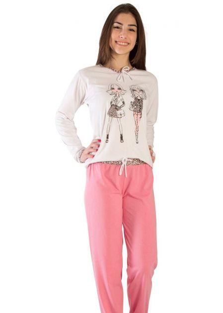 Pijama Plus Size Feminino Astromélia