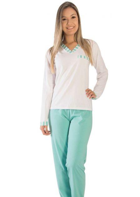 Pijama Plus Size Feminino Leana
