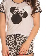 Pijama Plus Size Feminino Minnie Fashion