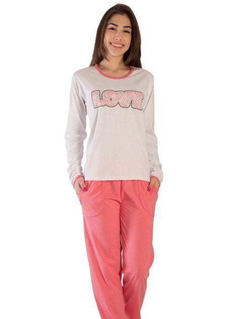 Pijama Plus Size Feminino Sarah