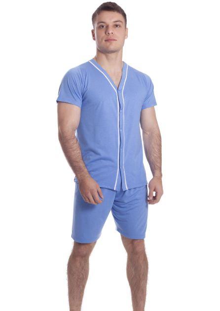 Pijama Plus Size Masculino Basic Summer