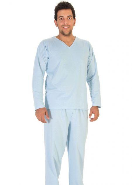 Pijama Plus Size Masculino Flanelado Classic