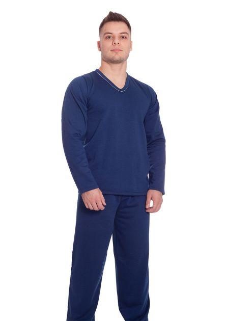 Pijama Plus Size Masculino Flanelado Longo Cadu