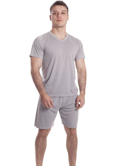 Pijama Plus Size Masculino Natural Summer