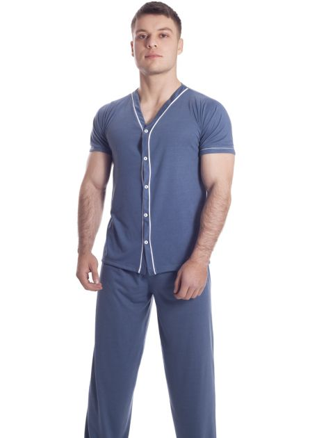 Pijama Plus Size Masculino Outback Summer