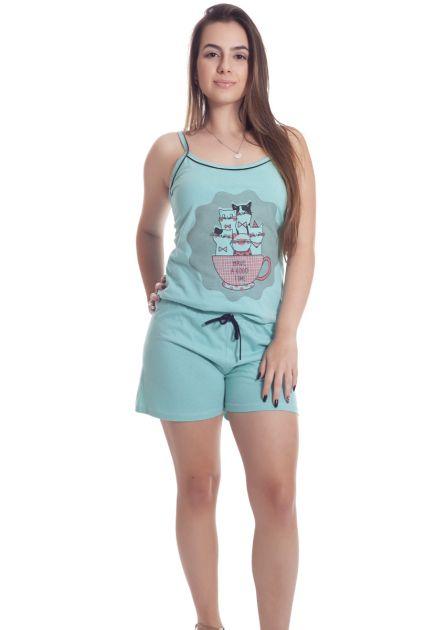 Short Doll Feminino Algodão com Babadinho Juliana