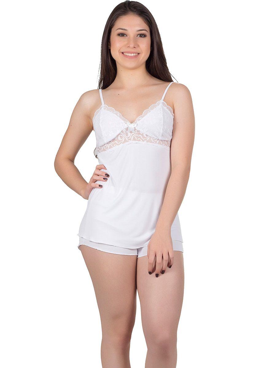 e23b16427 Short Doll Feminino Plus Size Liganete Lily na Amora Doce