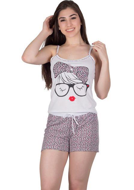 Short Doll Feminino Plus Size Malha Felice
