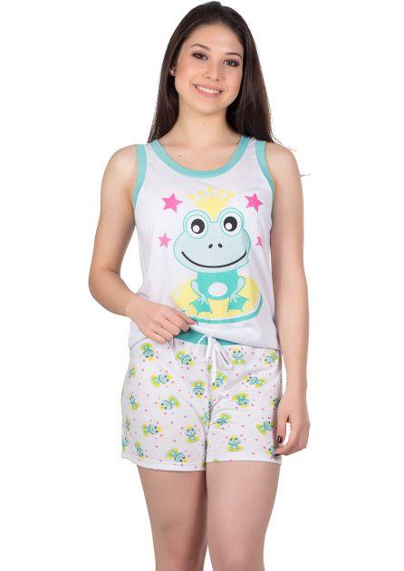 Short Doll Feminino Plus Size Malha Sapinho Luli