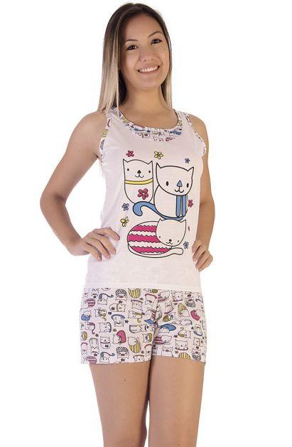 Short Doll Gatinhos Fofinhos